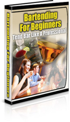 Product picture Bartending for Beginners - Learn the Basics