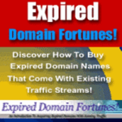 Product picture Expired Domain Fortunes - Loss Is Your Gain
