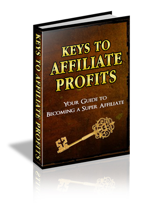 Product picture Keys to Affiliate Profits - Unlock the Door