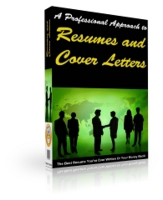 Product picture Resume and Cover Letters - Write Award Winning Resumes