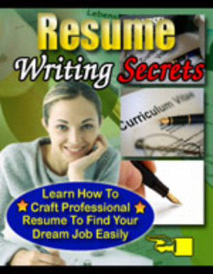 Product picture Resume Writing Secrets - Unlock Your Career